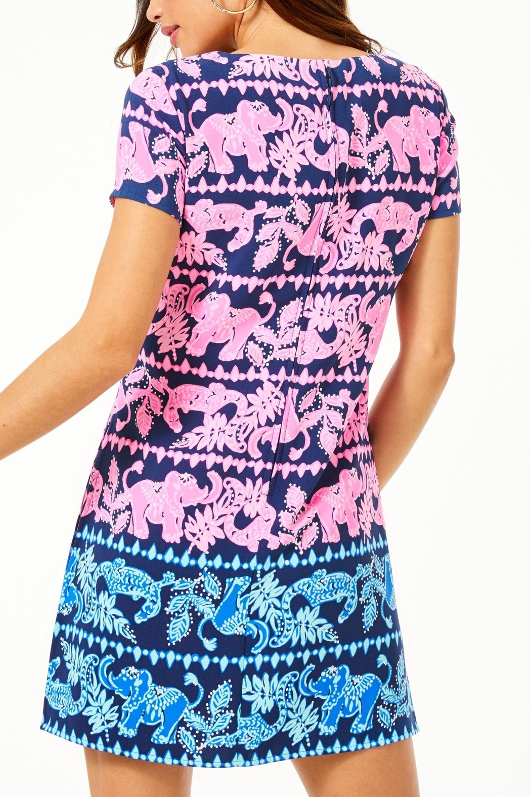 Lilly Pulitzer Blanca Stretch Romper - Front Full Image