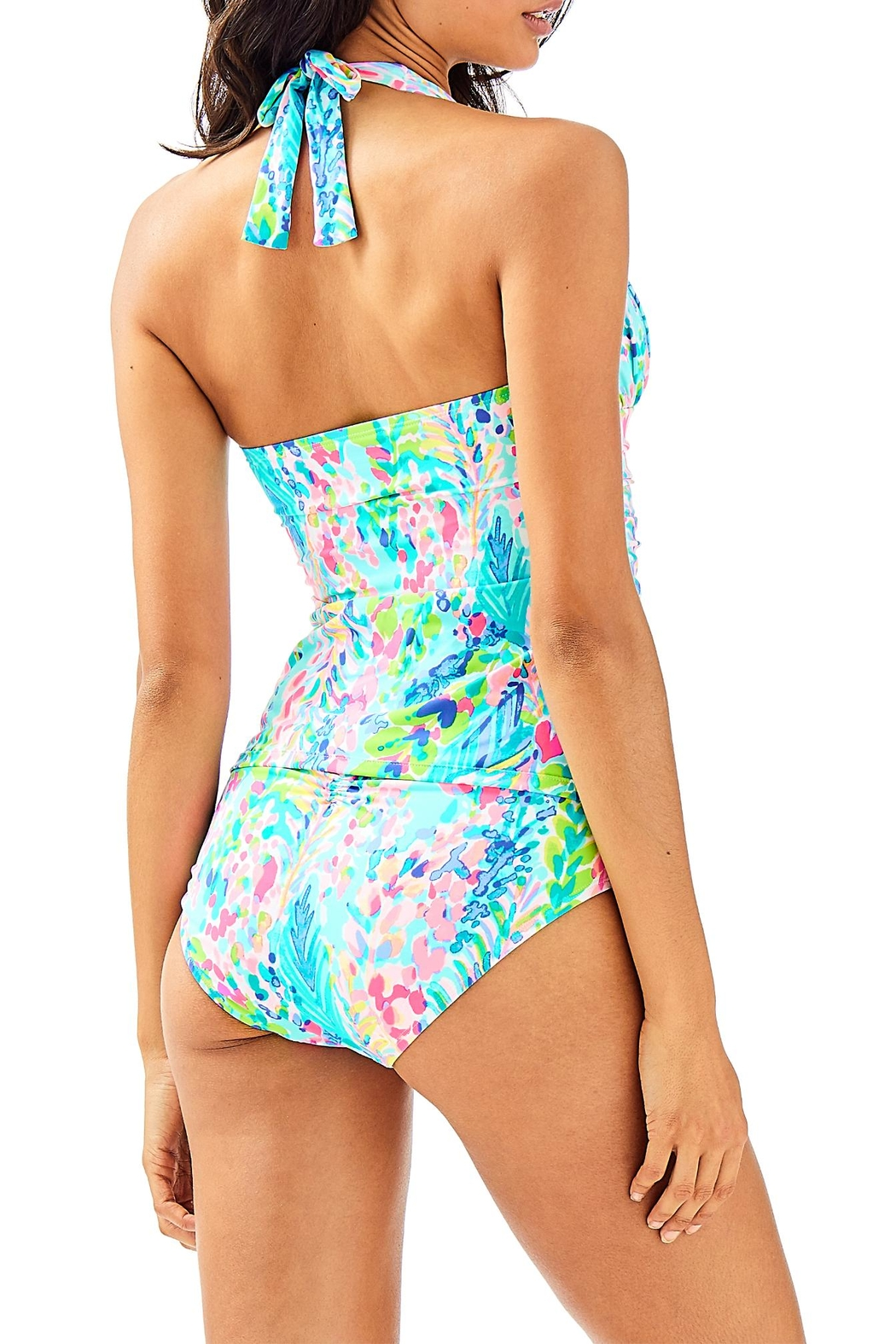 Lilly Pulitzer Bliss Tankini Top - Front Full Image