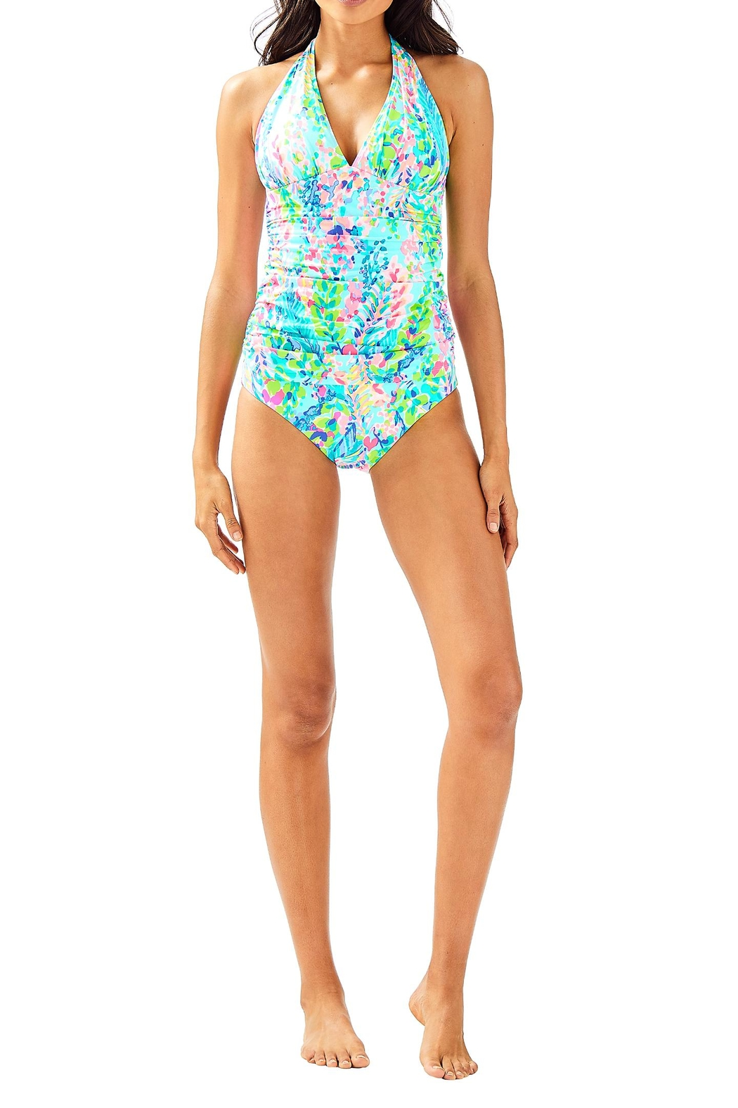 Lilly Pulitzer Bliss Tankini Top - Side Cropped Image