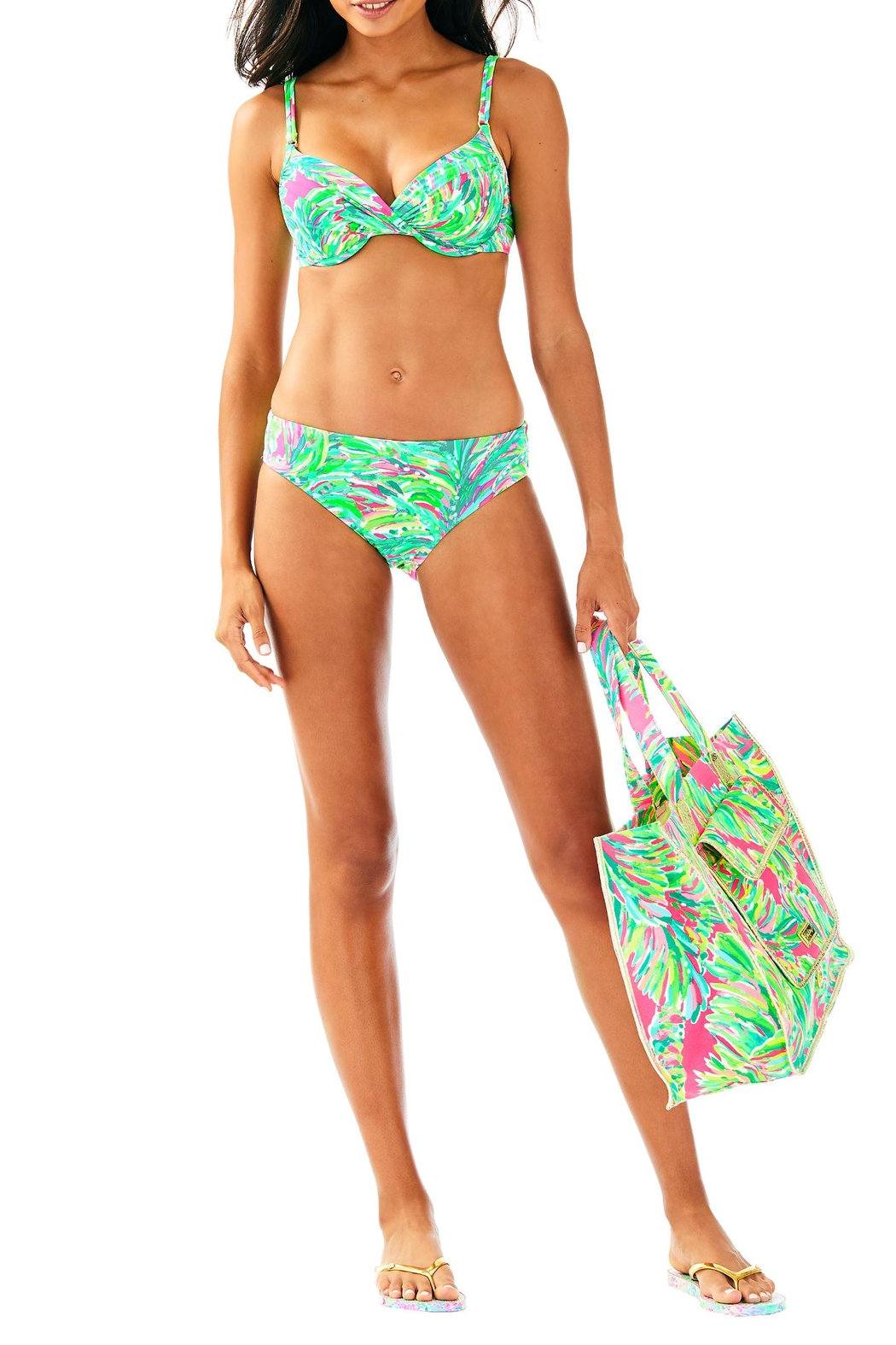 Lilly Pulitzer Blossom Bikini Bottom - Side Cropped Image