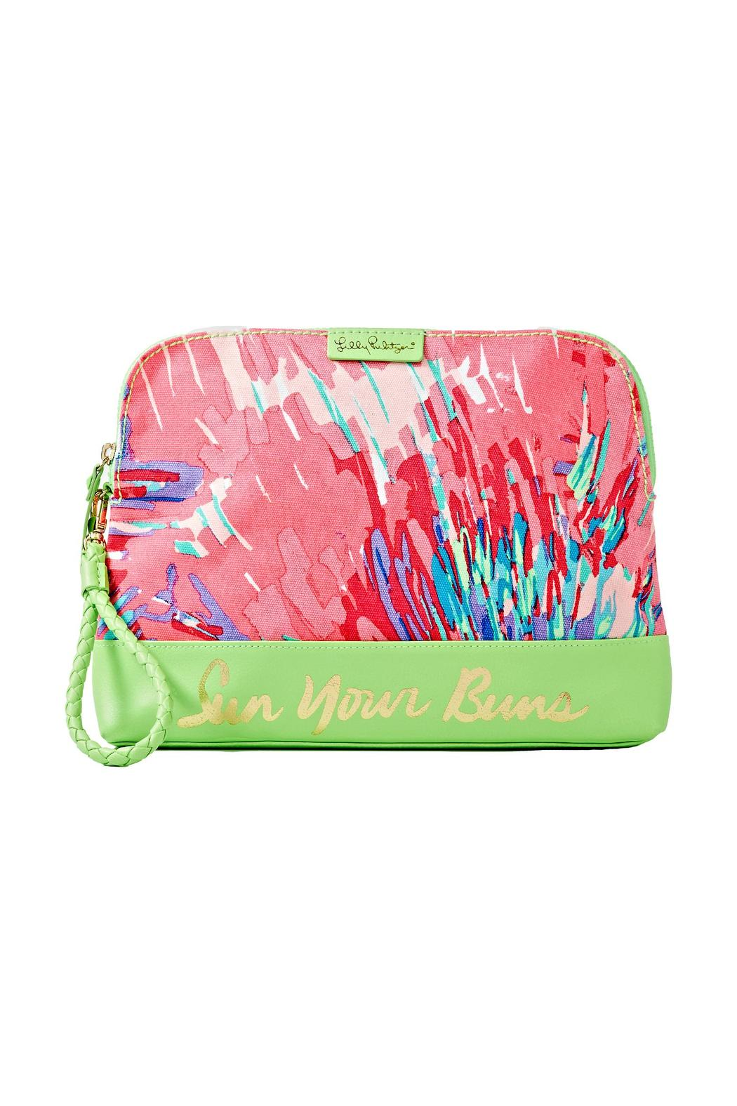 Charmant Lilly Pulitzer Bohemian Beach Wristlet   Front Cropped Image
