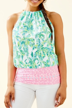 Lilly Pulitzer Bowen Halter Top - Product List Image