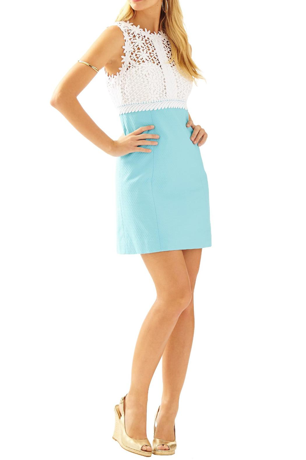 Lilly Pulitzer Breakers Lace-Top Shift-Dress from Sandestin Golf ...