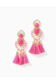 Lilly Pulitzer Breezy Beach Earrings - Front cropped