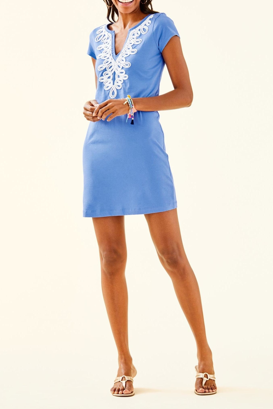 Lilly Pulitzer Brewster Dress - Back Cropped Image
