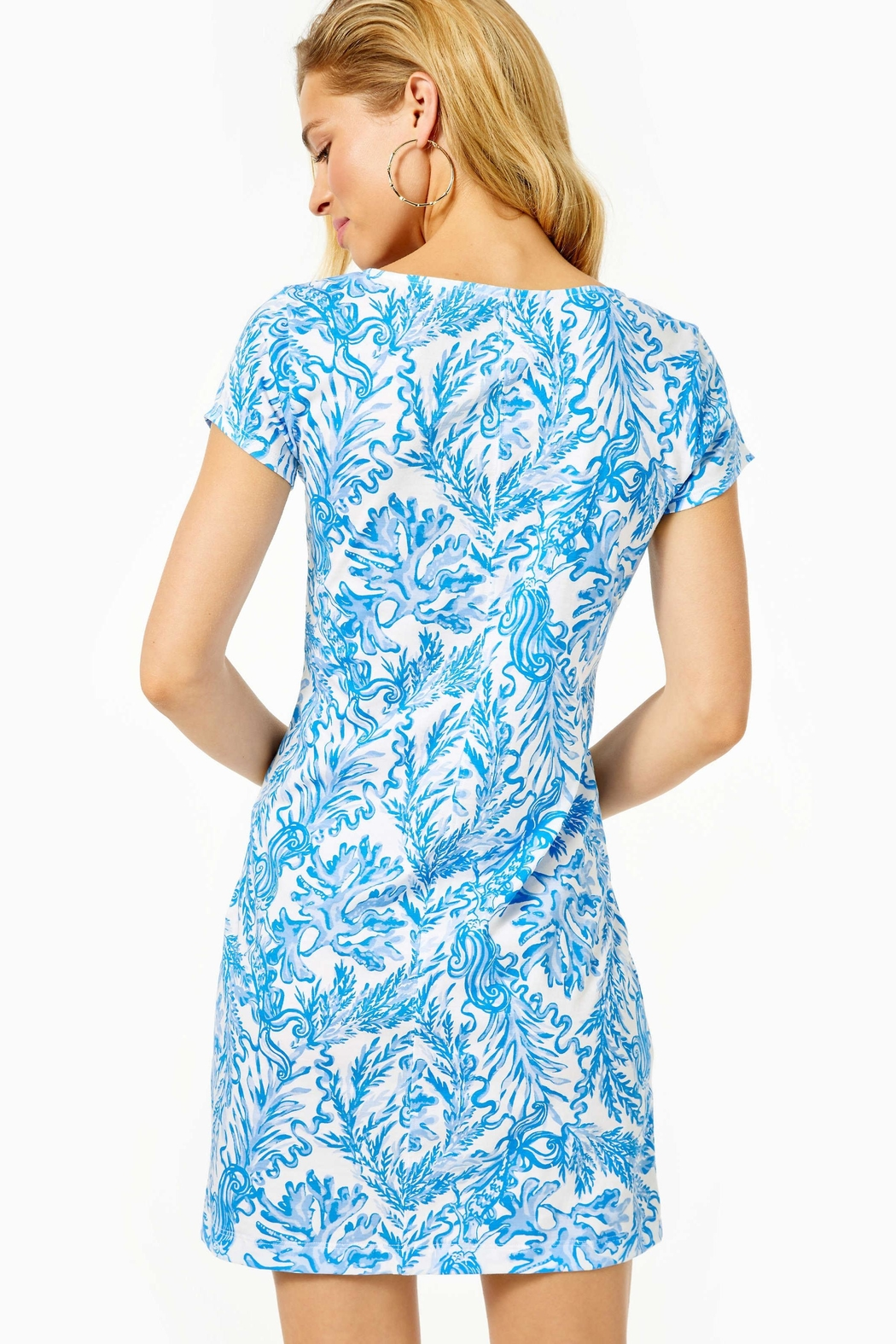 Lilly Pulitzer Brewster T-Shirt Dress - Front Full Image
