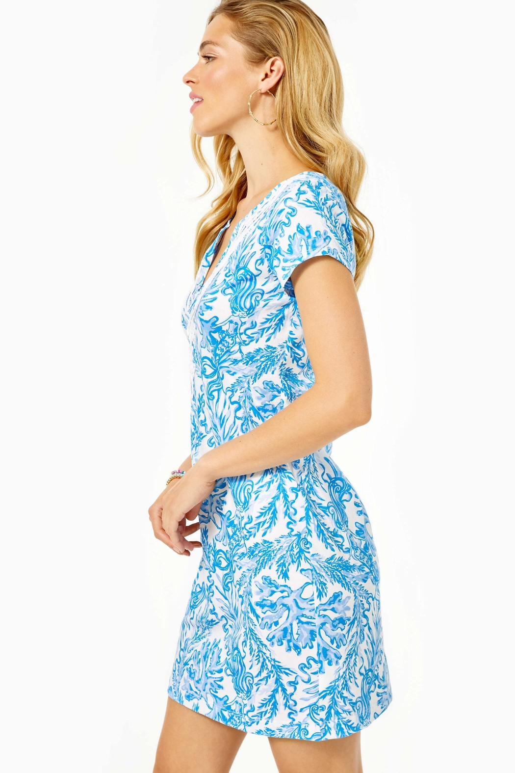 Lilly Pulitzer Brewster T-Shirt Dress - Side Cropped Image