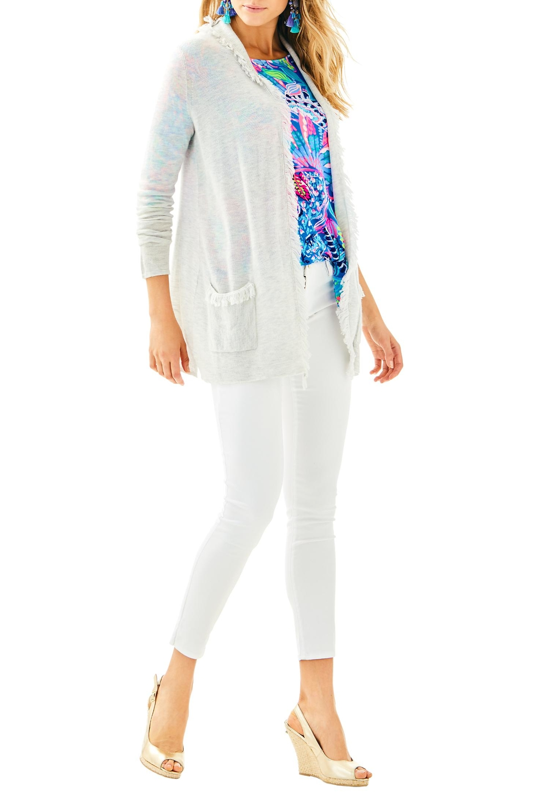 Lilly Pulitzer Bridget Cardigan - Side Cropped Image
