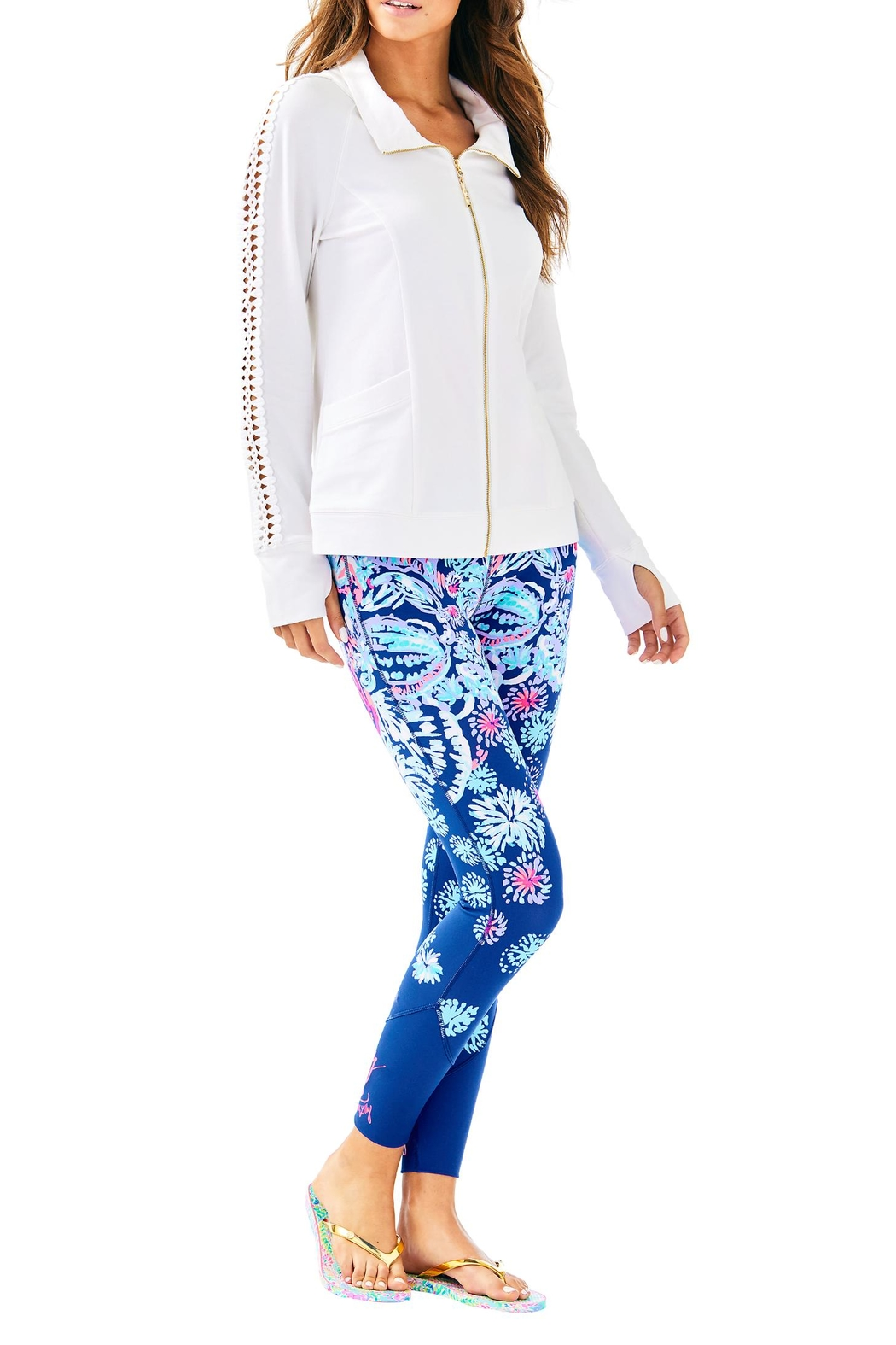 Lilly Pulitzer Brigantine Zip Up - Main Image