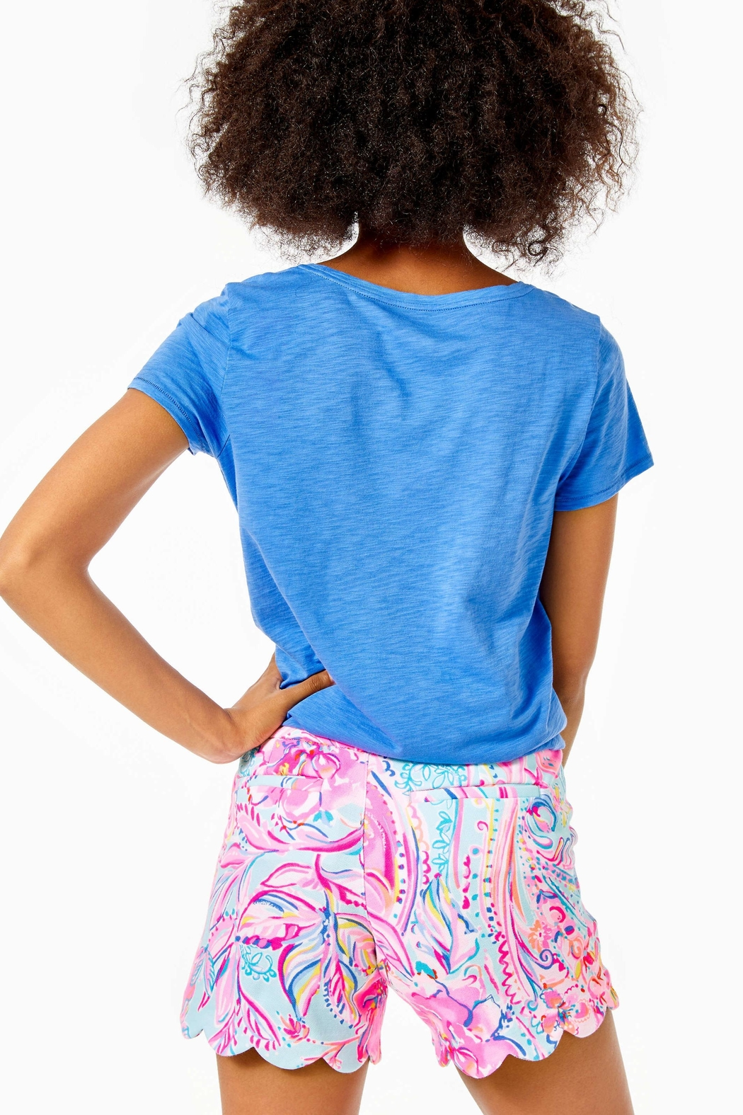 Lilly Pulitzer Buttercup Knit Short - Front Full Image