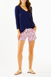 Lilly Pulitzer Buttercup Knit Short - Back cropped