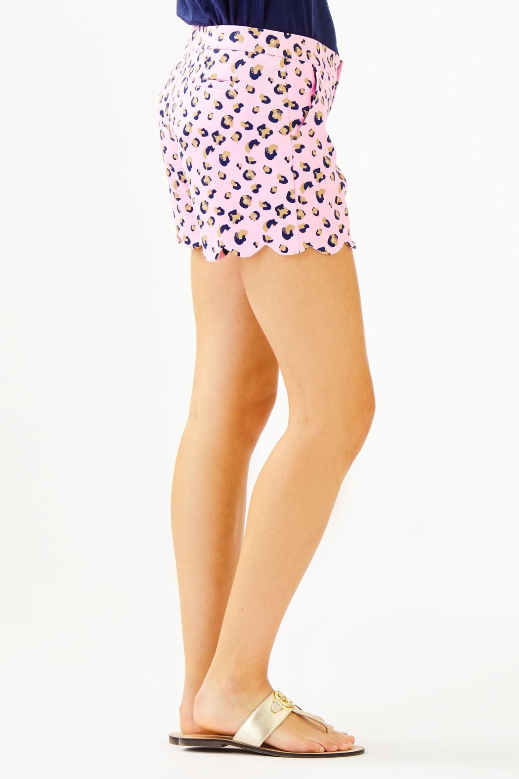 Lilly Pulitzer Buttercup Knit Short - Side Cropped Image