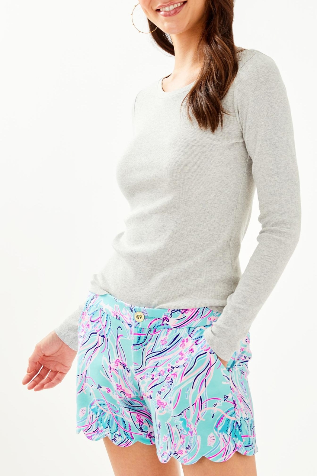 Lilly Pulitzer Buttercup Knit Short - Main Image