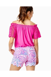 Lilly Pulitzer Buttercup Knit Stretch-Short - Front full body