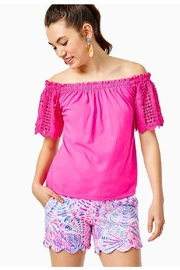 Lilly Pulitzer Buttercup Knit Stretch-Short - Product Mini Image