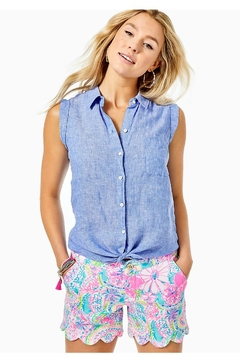 Lilly Pulitzer Buttercup Knit-Stretch Short - Product List Image