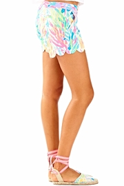 Lilly Pulitzer Buttercup Scallop Hem Short - Side cropped