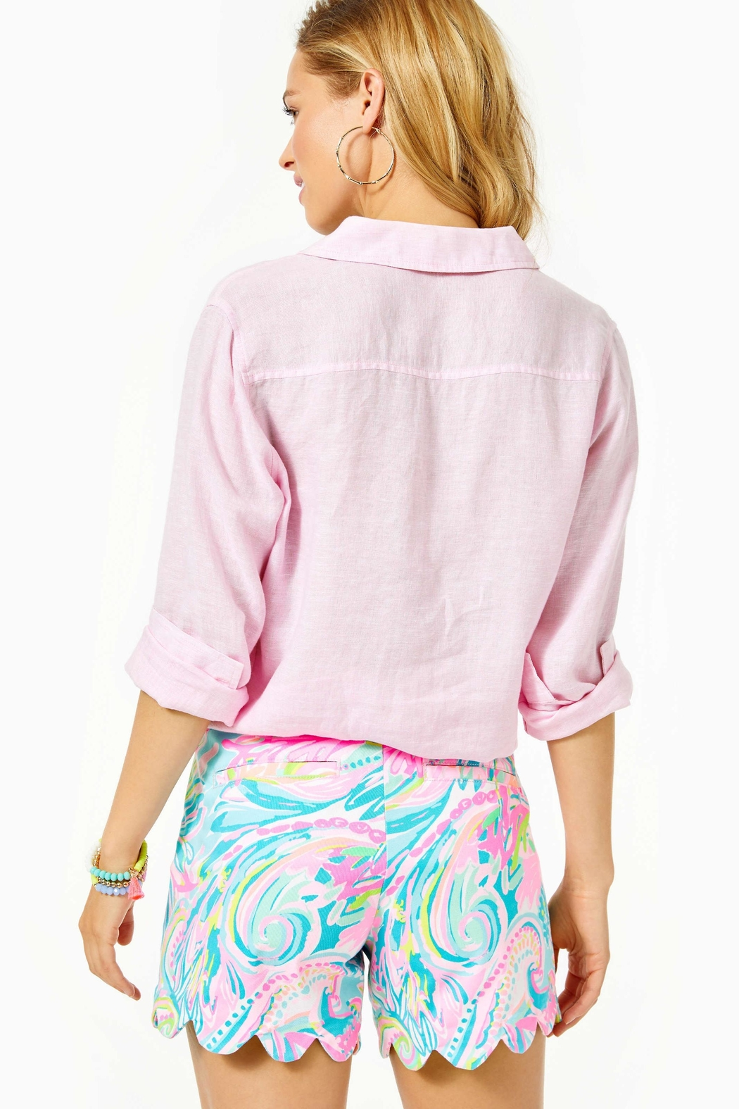 Lilly Pulitzer Buttercup Stretch Short - Front Full Image