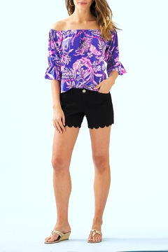 Lilly Pulitzer Buttercup Stretch Short - Alternate List Image