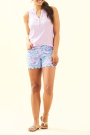 Lilly Pulitzer Buttercup Stretch Short - Back cropped