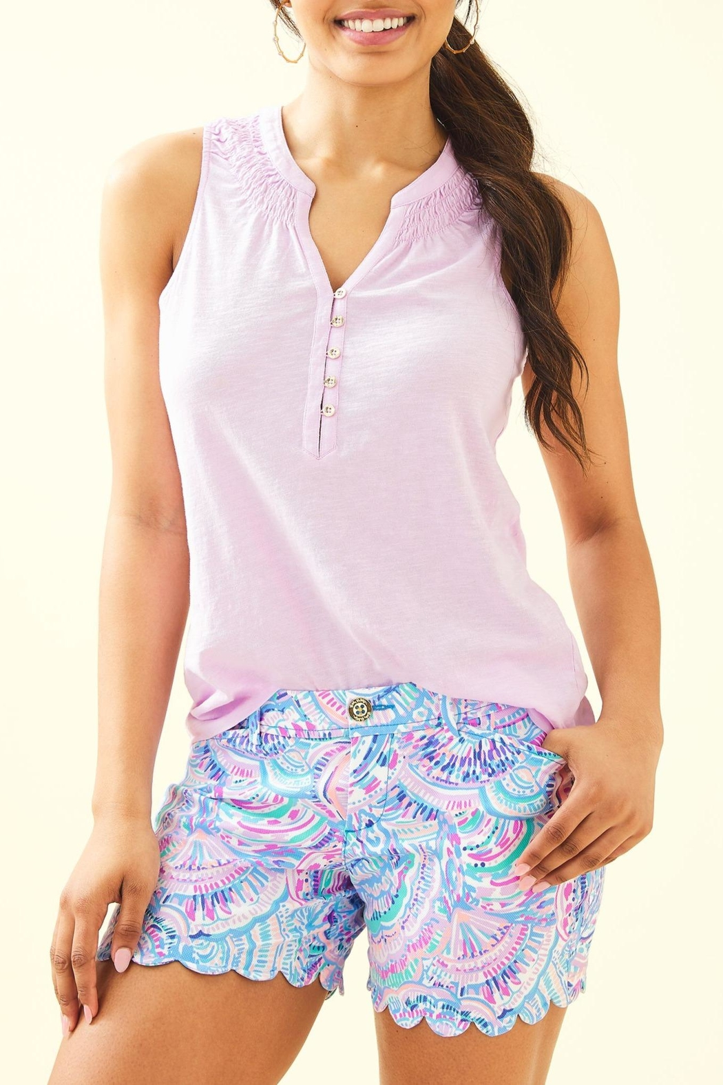 Lilly Pulitzer Buttercup Stretch Short - Main Image
