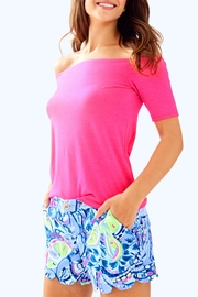 Lilly Pulitzer Buttercup Stretch-Twill Short - Product Mini Image