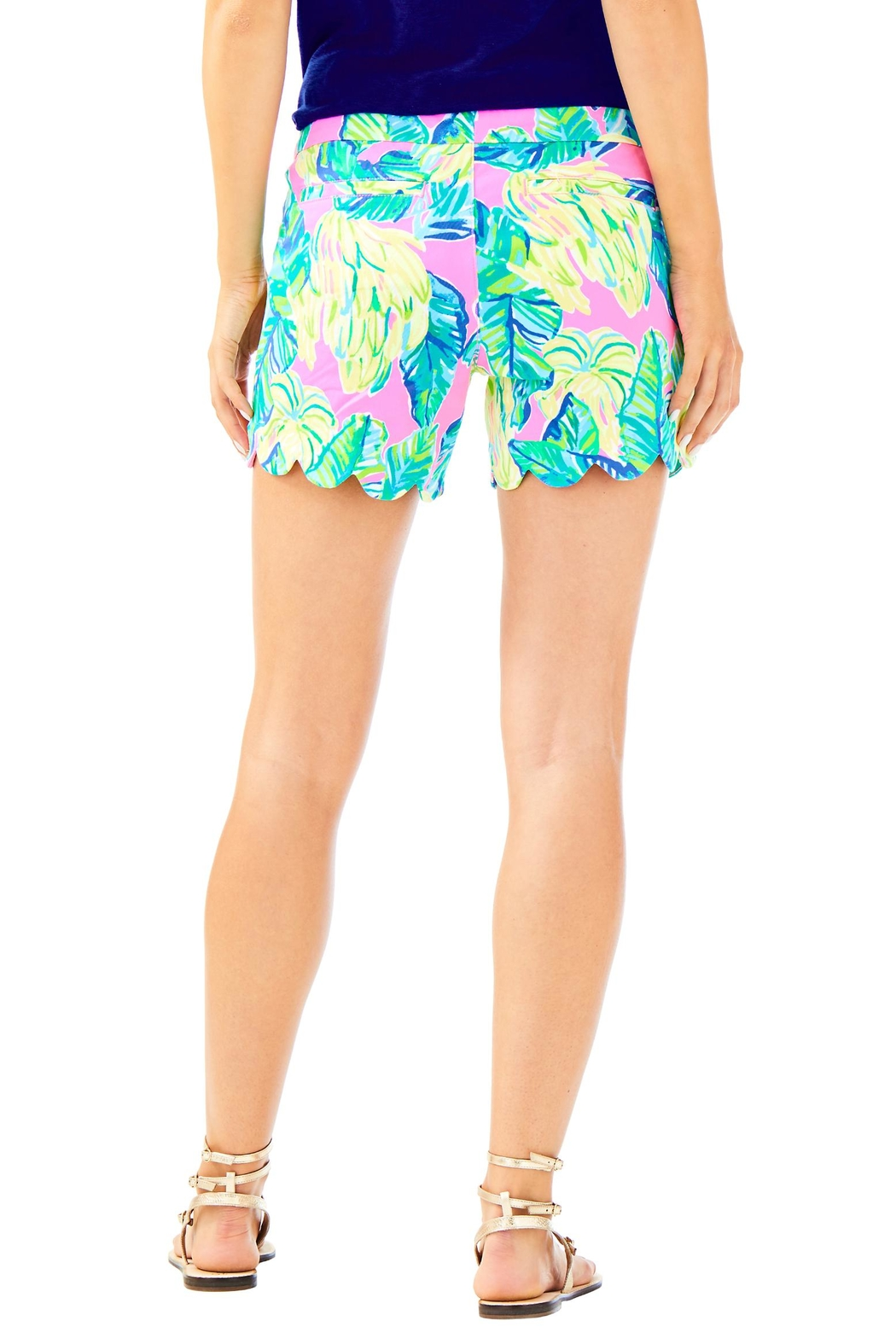 Lilly Pulitzer Buttercup Twill Short - Front Full Image