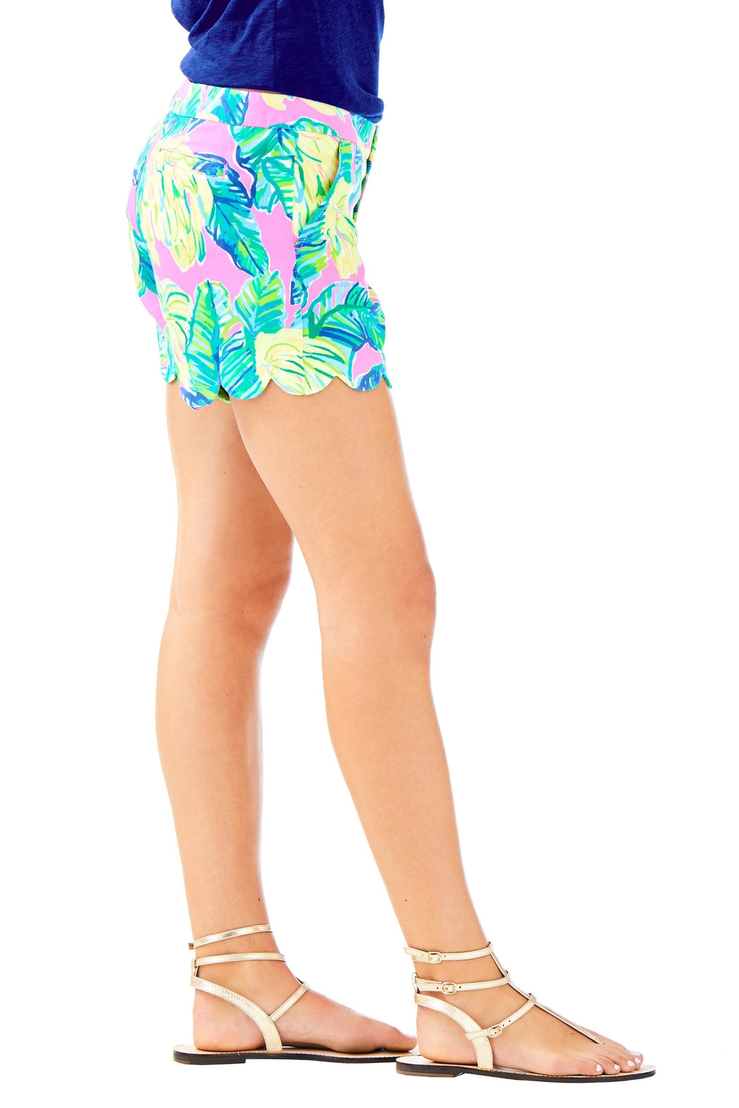 Lilly Pulitzer Buttercup Twill Short - Side Cropped Image