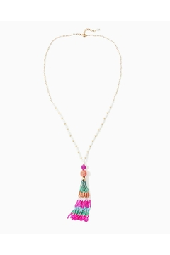 Lilly Pulitzer Cabana Cocktail Necklace - Product List Image