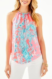 Lilly Pulitzer Cabana Halter Top - Product Mini Image