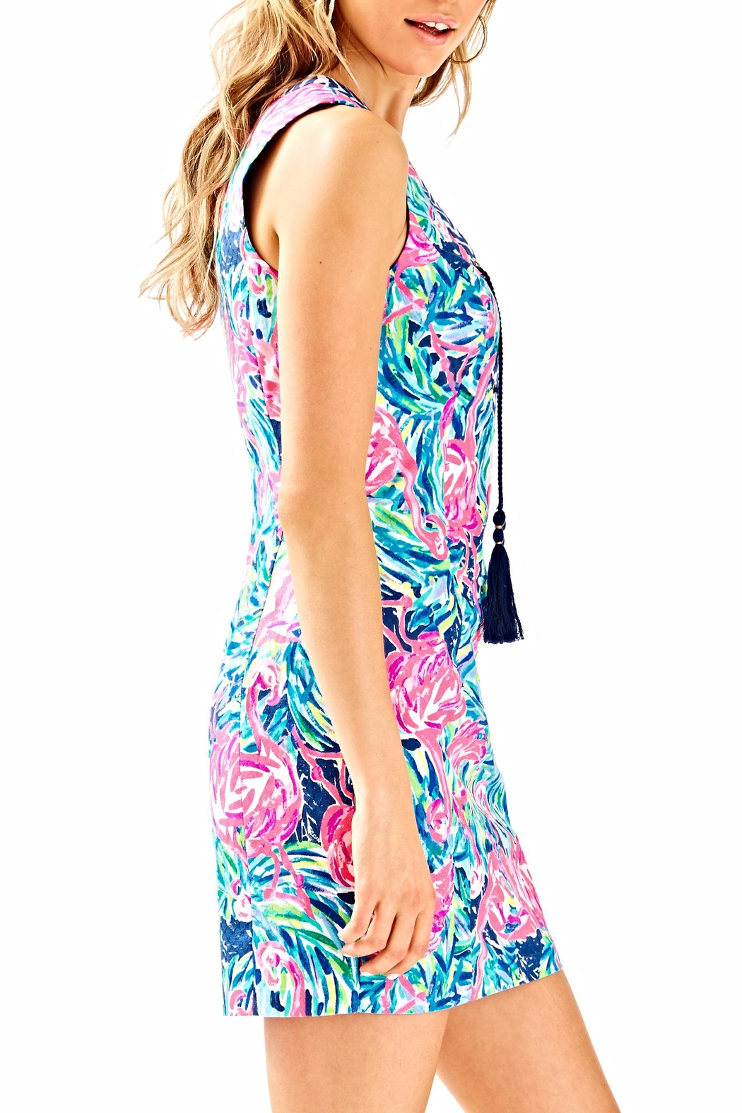 Lilly Pulitzer Cabrey Shift Dress - Side Cropped Image