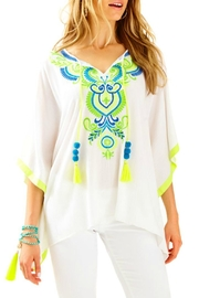 Lilly Pulitzer Cait Caftan Top - Front cropped