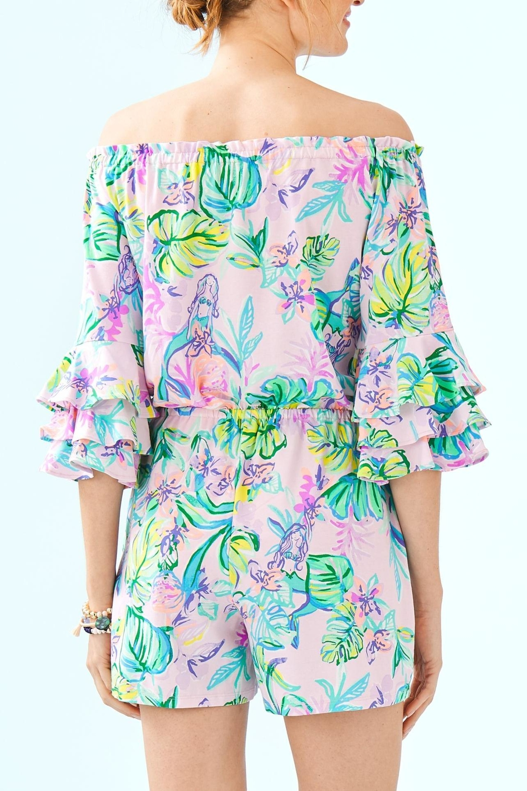 Lilly Pulitzer Calla Romper - Front Full Image