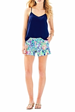 Lilly Pulitzer Callahan Ponte Shorts - Alternate List Image
