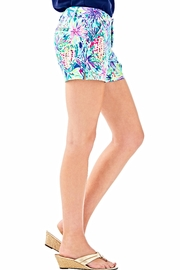 Lilly Pulitzer Callahan Ponte Shorts - Side cropped