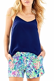 Lilly Pulitzer Callahan Ponte Shorts - Front cropped