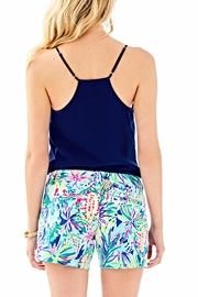 Lilly Pulitzer Callahan Ponte Shorts - Front full body