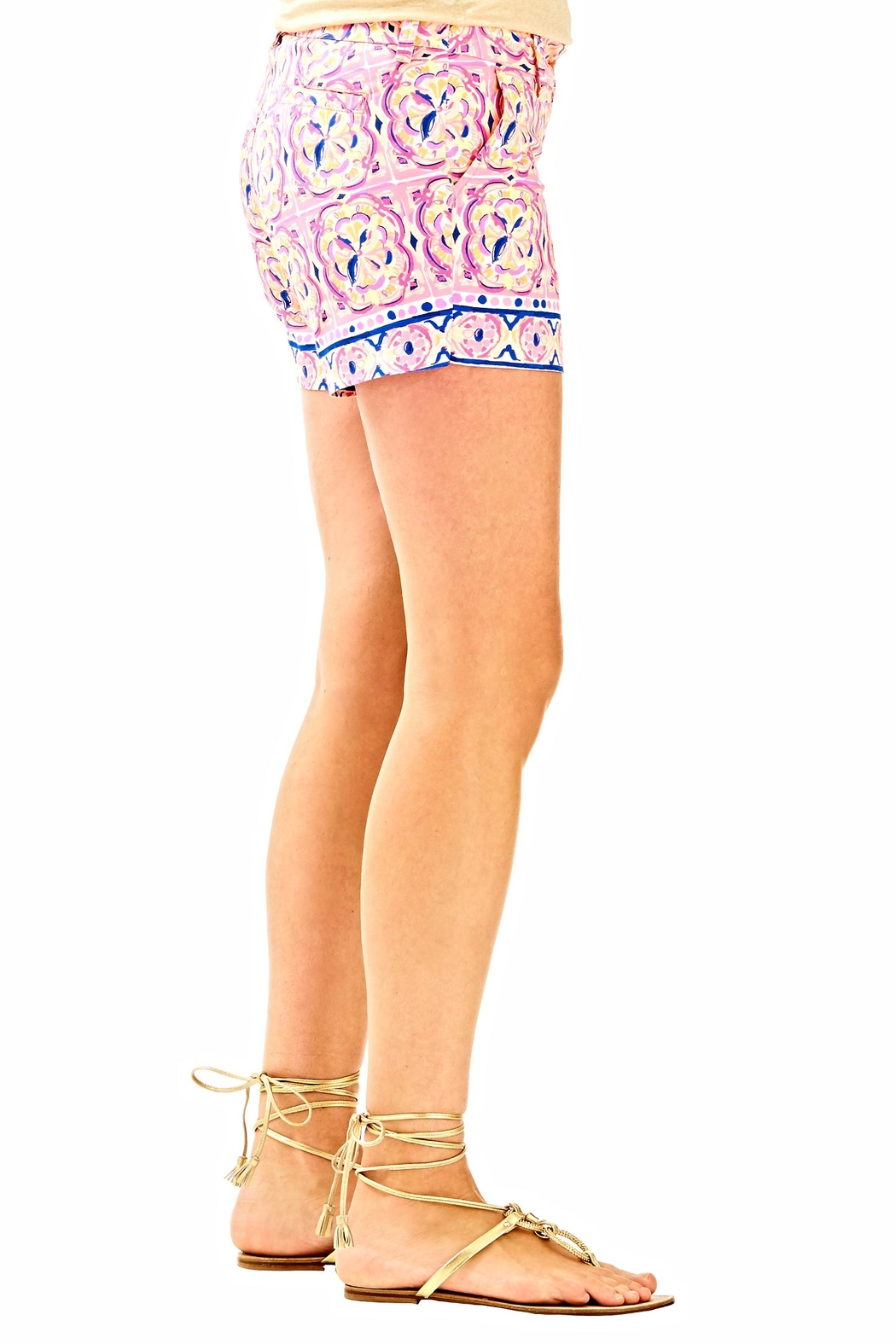 Lilly Pulitzer Callahan Shorts - Side Cropped Image