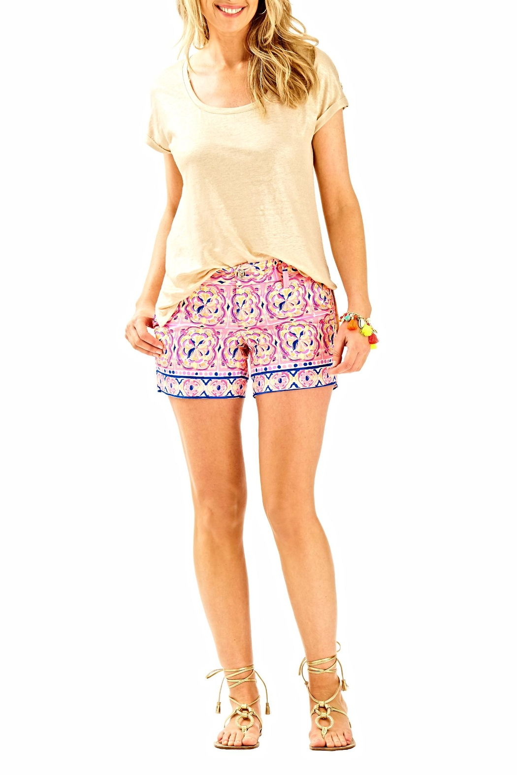 Lilly Pulitzer Callahan Shorts - Back Cropped Image