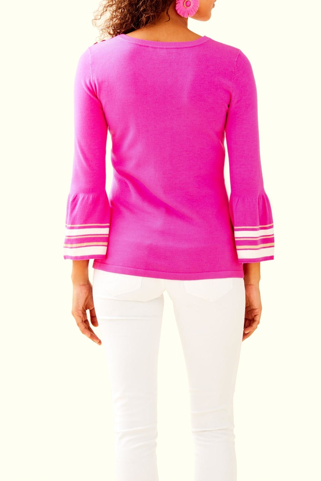 Lilly Pulitzer Callee Sweater - Front Full Image