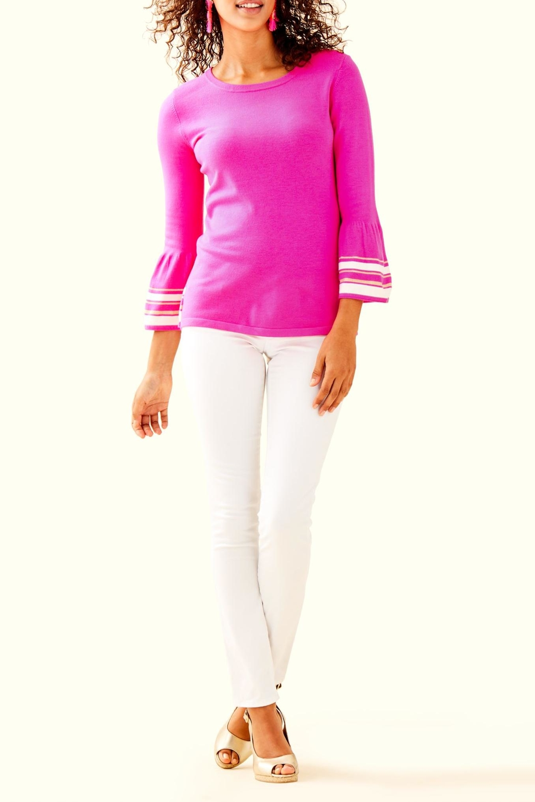 Lilly Pulitzer Callee Sweater - Side Cropped Image