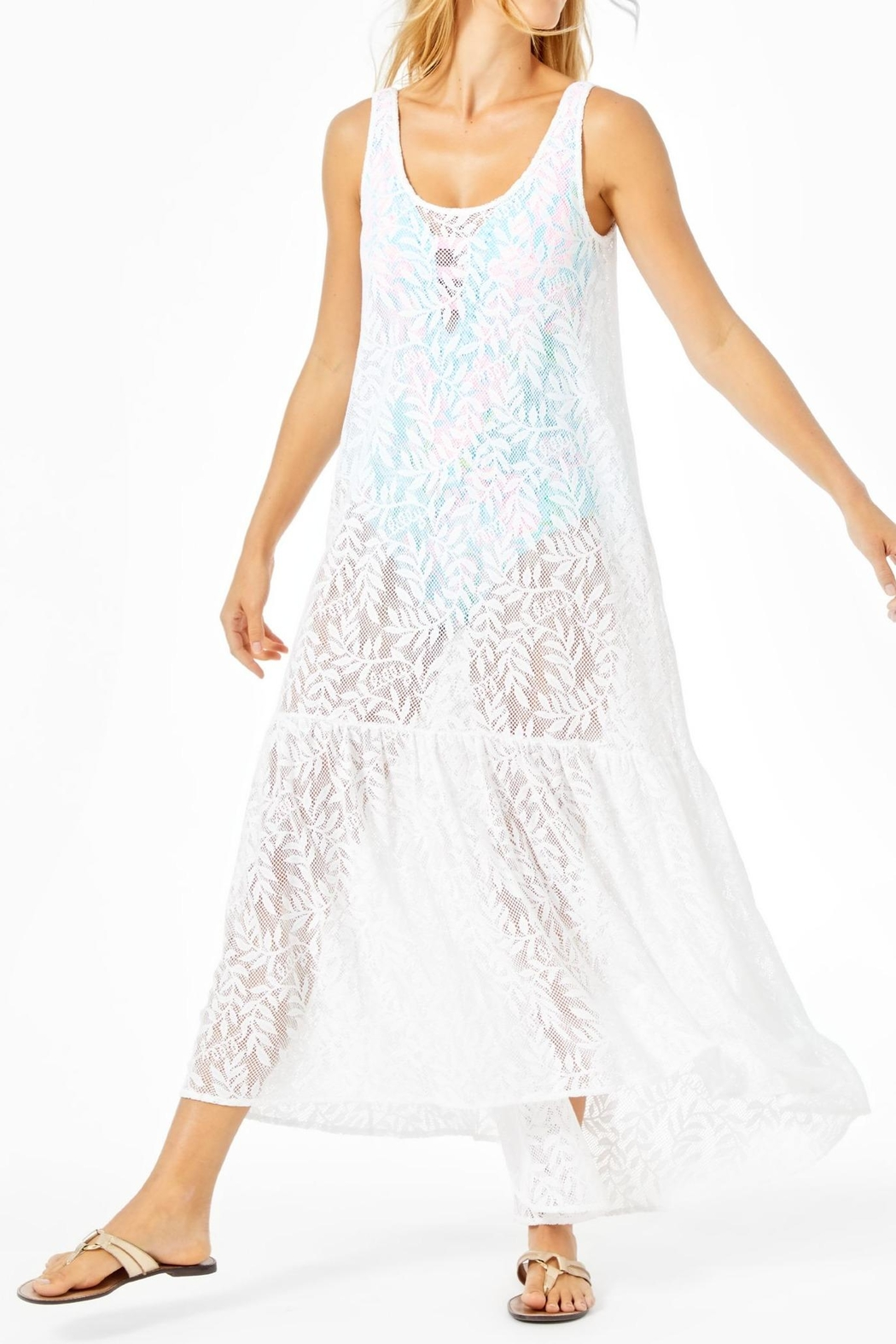 Lilly Pulitzer Camellia Maxi Cover-Up - Main Image
