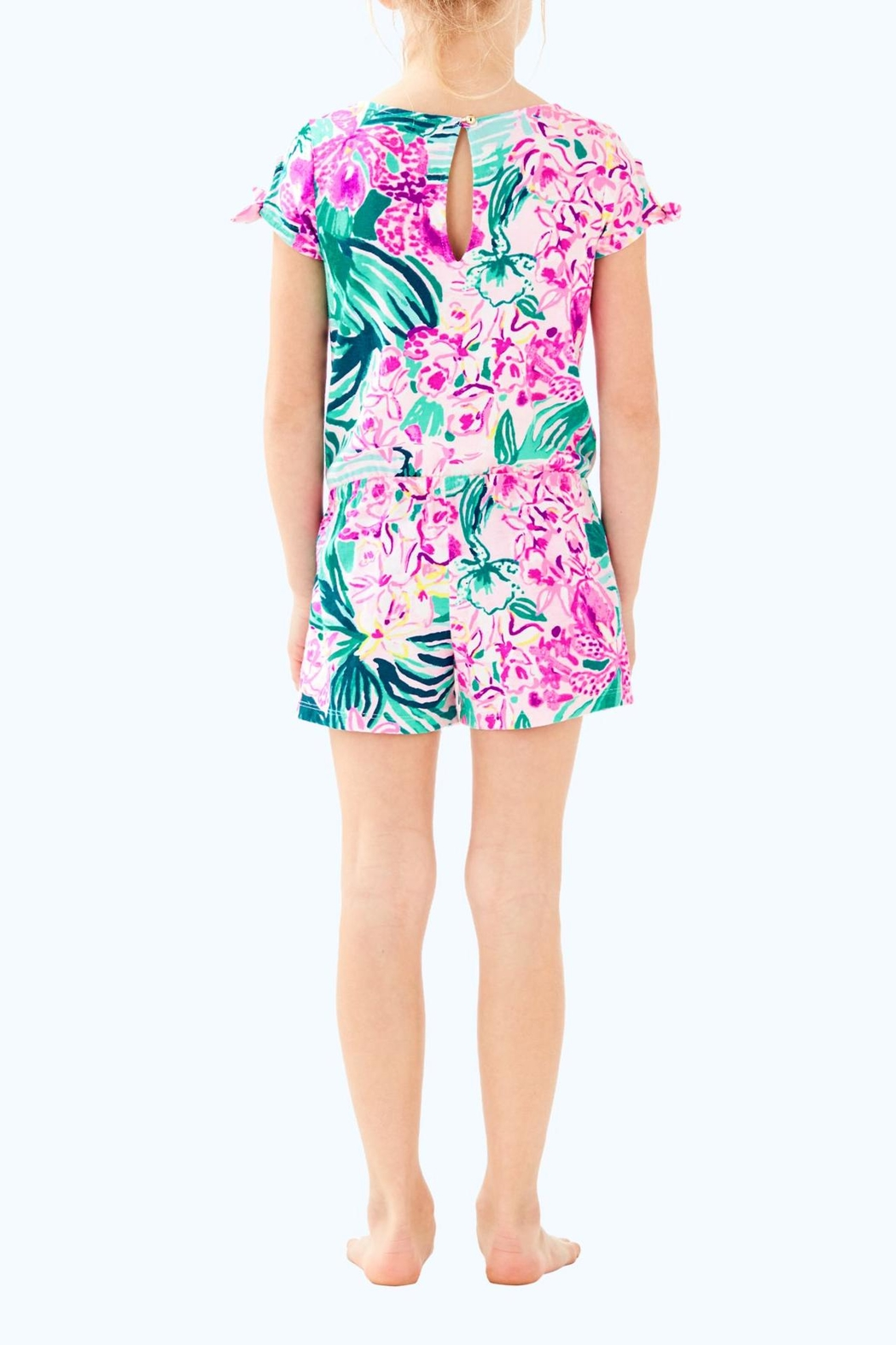 Lilly Pulitzer Camryn Romper - Front Full Image