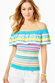 Lilly Pulitzer Canaria Striped Sweater - Product Mini Image