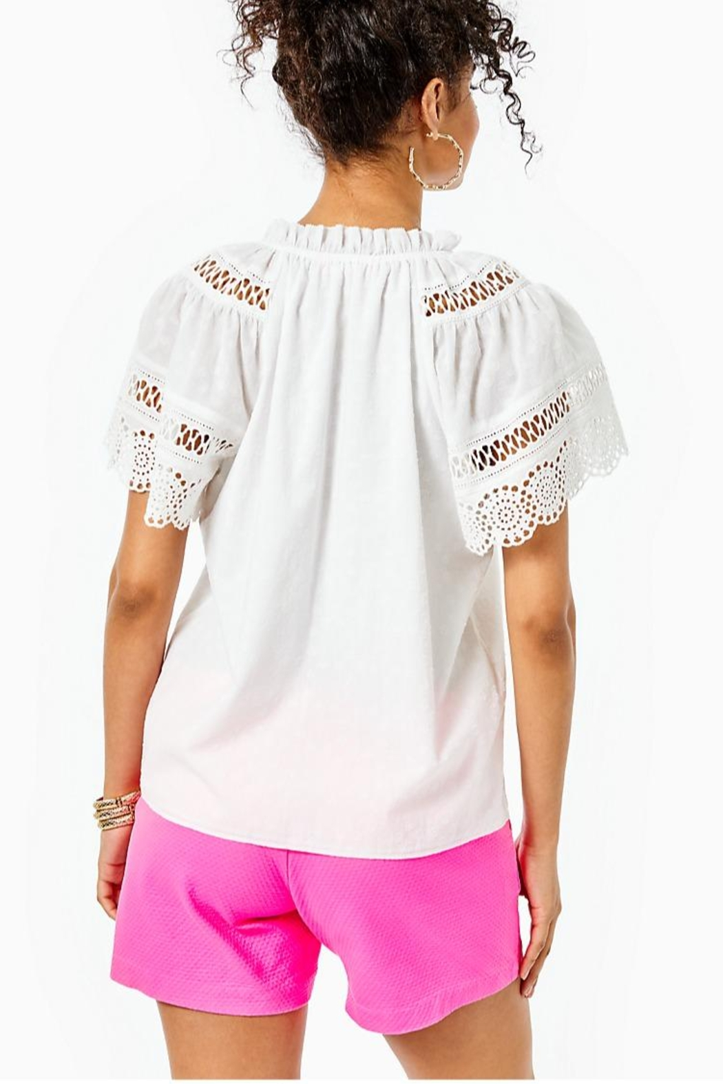 Lilly Pulitzer Candee Top - Front Full Image