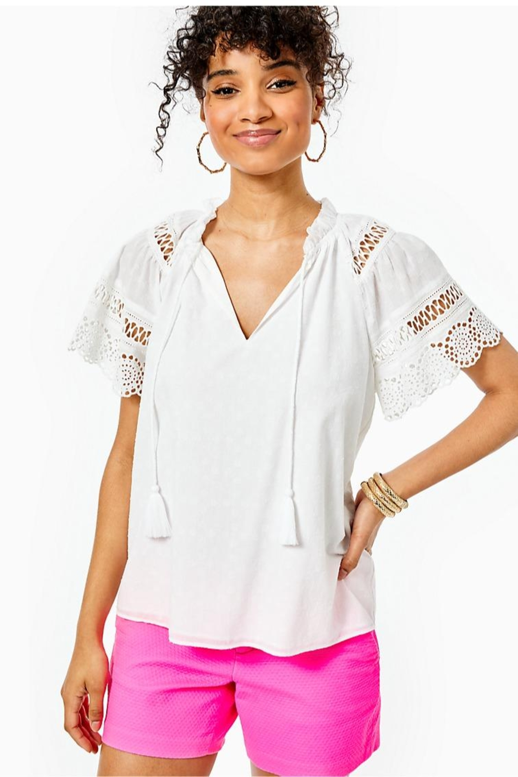 Lilly Pulitzer Candee Top - Main Image