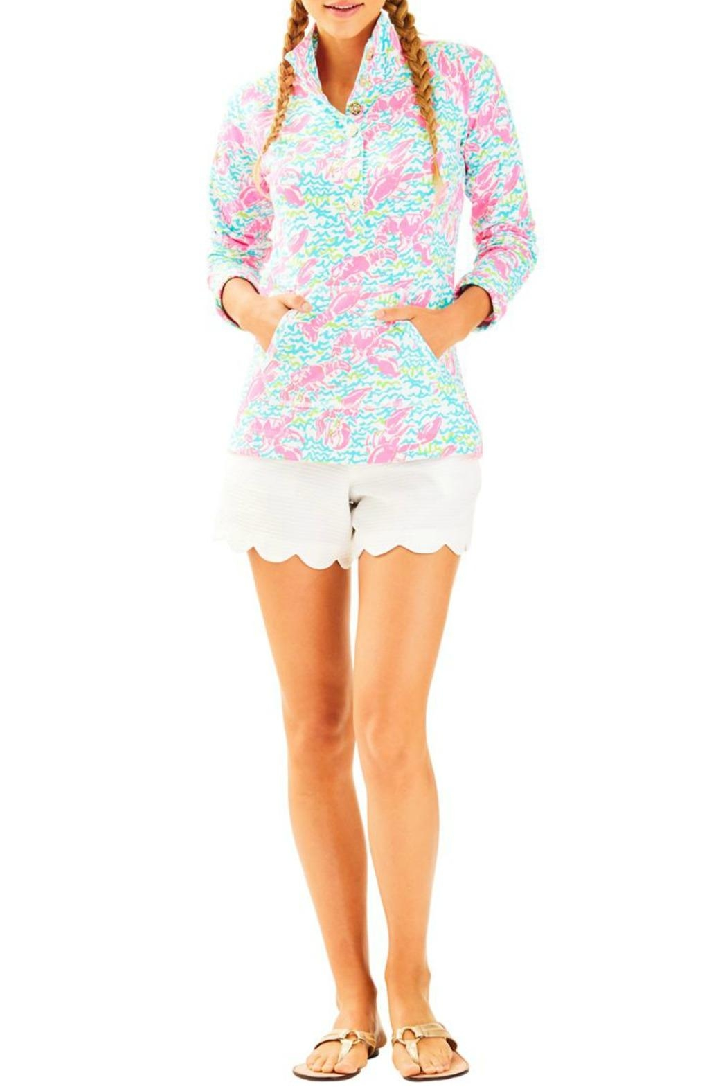 Lilly Pulitzer Captain Popover Top - Main Image