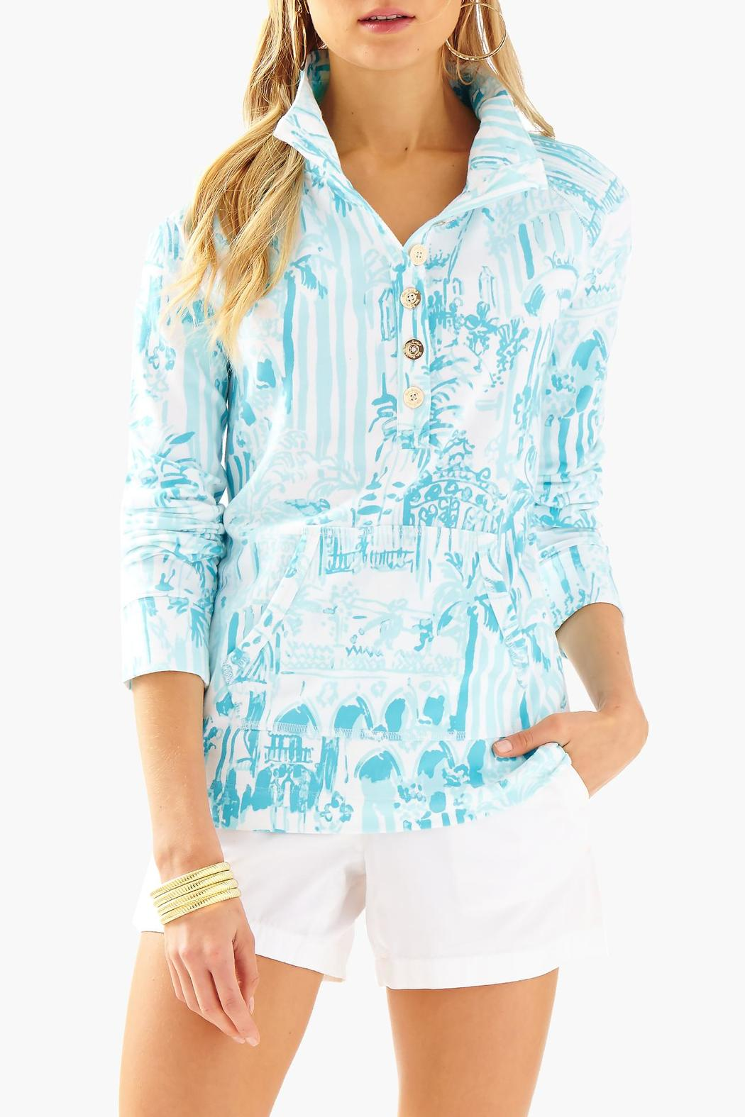 4f29bbe3e3dd3d Lilly Pulitzer Captain Printed Popover from Sandestin Golf and Beach ...
