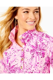Lilly Pulitzer Captain Round-Hem Popover - Back cropped
