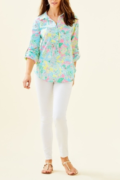 Lilly Pulitzer Captiva Tunic Top - Alternate List Image